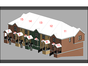 Fig. 2 - Townhouse